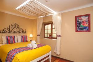 Cama o camas de una habitación en Casa Saphi