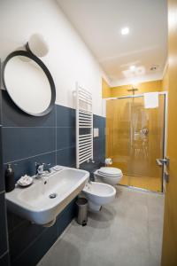 A bathroom at Salerno 1950