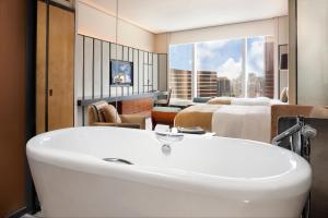 A bathroom at MGM Macau
