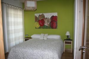 Un ou plusieurs lits dans un hébergement de l'établissement Gure Idorpea