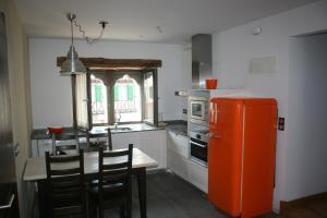 Cuisine ou kitchenette dans l'établissement Gure Idorpea