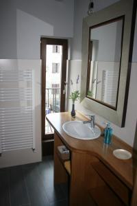 Salle de bains dans l'établissement Gure Idorpea