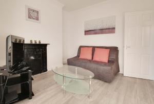 A seating area at 34 New Road