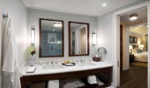 A bathroom at Half Moon