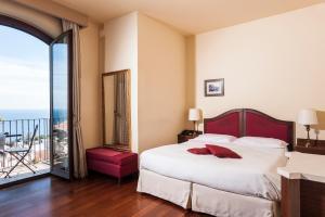 Letto o letti in una camera di Best Western Hotel Santa Caterina