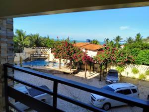 A balcony or terrace at Falésia Praia Hotel
