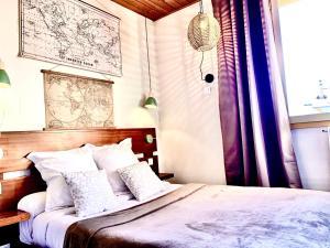 Le Relais de la Vanoiseにあるベッド