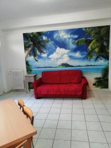 A seating area at Come A Casa Tua
