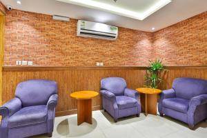 O saguão ou recepção de Rouh Taiba Hotel