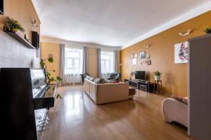 Гостиная зона в Апартаменты на Невском 18