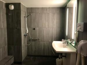 A bathroom at easyHotel Nice Palais des Congrès – Old Town