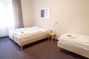 Кровать или кровати в номере Hotel Prokopka