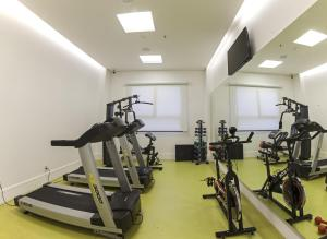 The fitness center and/or fitness facilities at ibis Styles Palmas