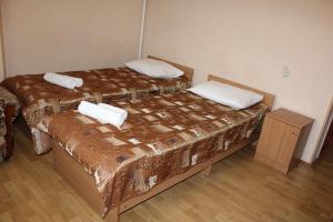 Кровать или кровати в номере Гостевой дом «На Гоголя 16»