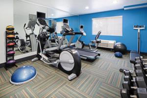 The fitness center and/or fitness facilities at Holiday Inn Express Hotel & Suites Watsonville, an IHG Hotel