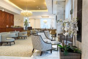 منطقة البار أو اللاونج في فندق غراند ماجستيك الكويت