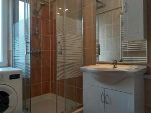 Koupelna v ubytování Apartment Angel Zagreb 2