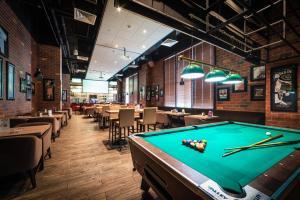 A pool table at Ibis Styles Dragon Mart Dubai