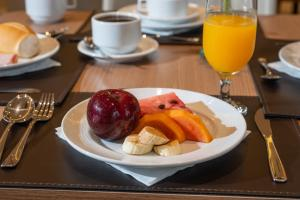Breakfast options available to guests at Hotel Laghetto Viverone Estação
