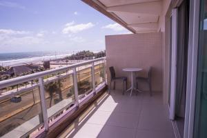 A balcony or terrace at Crocobeach Hotel
