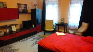 A bed or beds in a room at Atia Residence