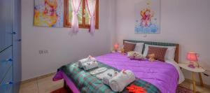 Ένα ή περισσότερα κρεβάτια σε δωμάτιο στο Snow Captain