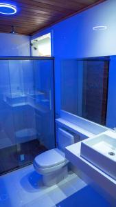 A bathroom at Praia da Crena