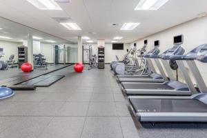 The fitness centre and/or fitness facilities at Holiday Inn Missoula Downtown, an IHG Hotel
