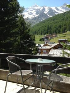 A balcony or terrace at Hotel La Collina