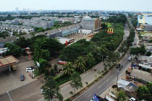 A bird's-eye view of Merapi Merbabu Hotels Bekasi
