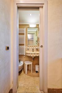 Um banheiro em Hotel Vecellio Venice Lagoon View