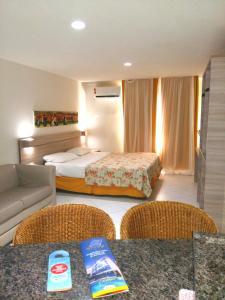 Cama ou camas em um quarto em Ambassador Flat