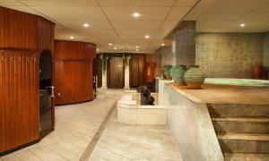 Lobby/Rezeption in der Unterkunft Hotel Van Oranje
