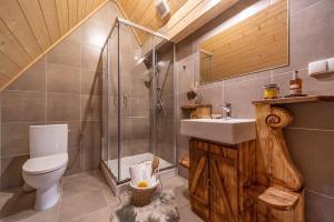 Łazienka w obiekcie Apartamenty Willa Olsza