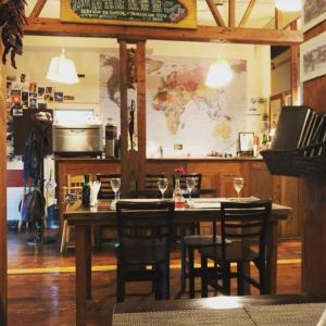 A restaurant or other place to eat at Hostal Mito