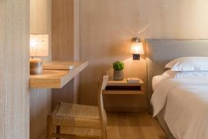 Cama o camas de una habitación en The Margi