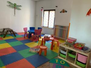 The kid's club at Albergo Parco Gran Sasso