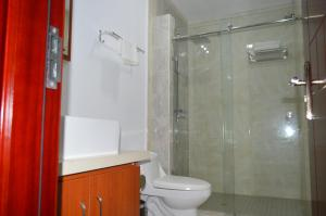 A bathroom at Residences Sommet Port Salut
