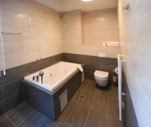 Aparthotel Vucko tesisinde bir banyo
