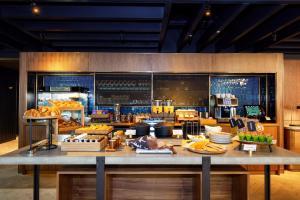 Restaurant ou autre lieu de restauration dans l'établissement Wilde Aparthotels by Staycity Edinburgh Grassmarket