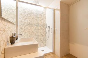 A bathroom at B&B Dei Mercanti