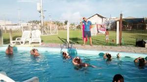 The swimming pool at or close to Pousada ACM Tramandaí - RS
