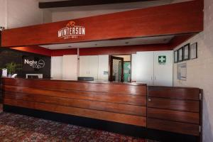 The lobby or reception area at Nightcap at Wintersun Hotel
