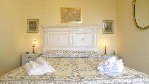 Cama o camas de una habitación en Fra Bartolomeo