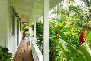 Uma varanda ou terraço em Villa Iris
