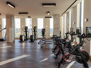 The fitness center and/or fitness facilities at Austin Proper Hotel, a Member of Design Hotels