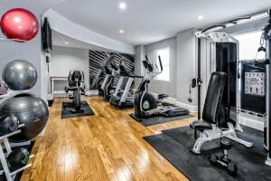 The fitness center and/or fitness facilities at Hotel Indigo Dallas Downtown, an IHG Hotel