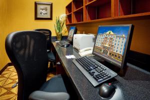 The business area and/or conference room at Holiday Inn Express Hotel & Suites Clarington - Bowmanville, an IHG Hotel