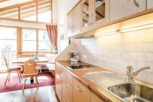 Cucina o angolo cottura di Villa David Dolomites
