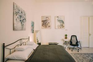 Posteľ alebo postele v izbe v ubytovaní Entrez Apartment 3 - Historical Centre